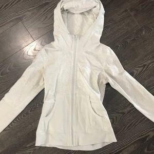 Lululemon size 6 zip up hoodie